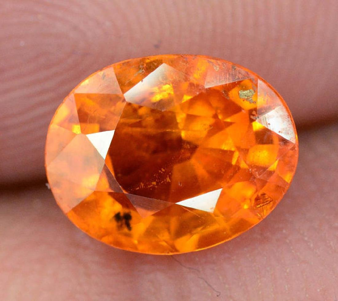 2.45 carats Fanta Color Spessartite Garnet Loose - 4