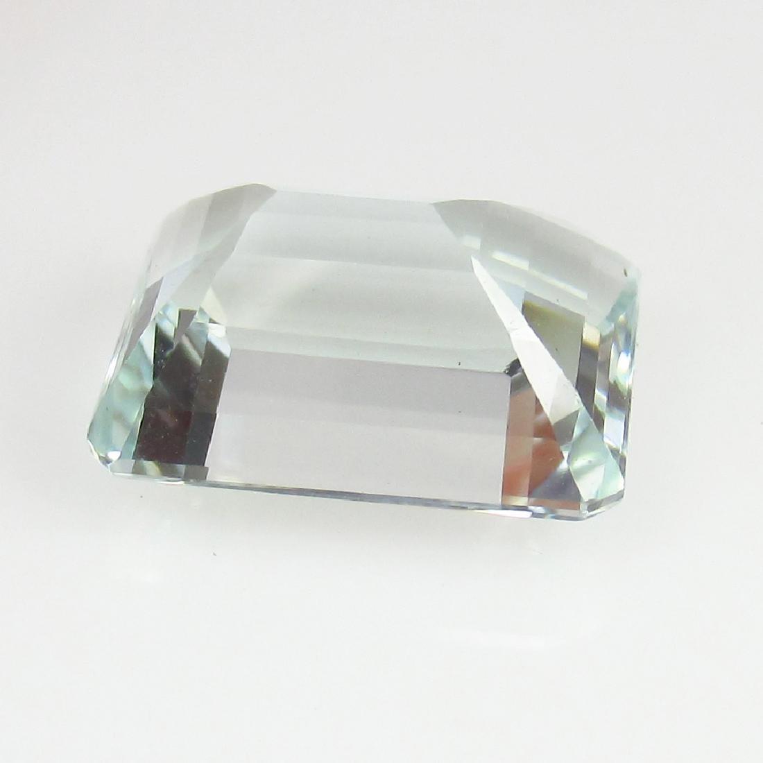 5.32 Ctw Natural Loose Excellent Emerald cut Aquamarine - 2