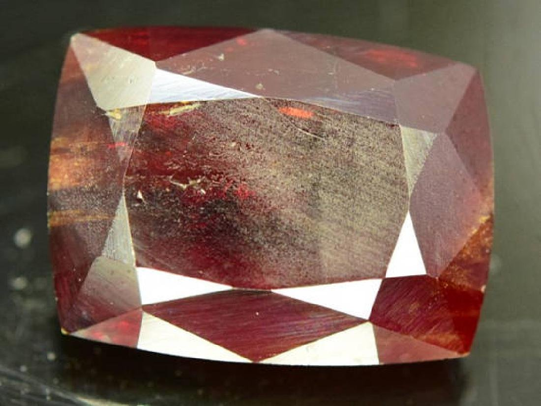 48.80 ct Natural Extremely Rare Gemstone Tantalite from - 2