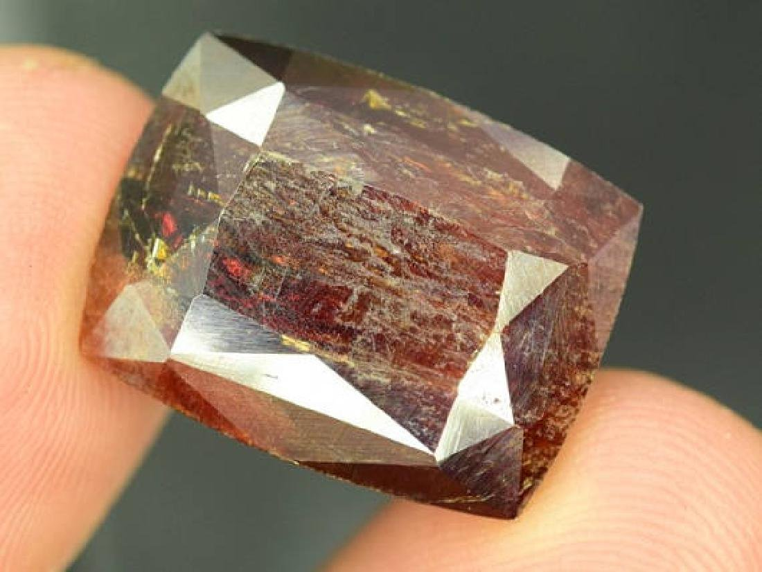 48.80 ct Natural Extremely Rare Gemstone Tantalite from - 3