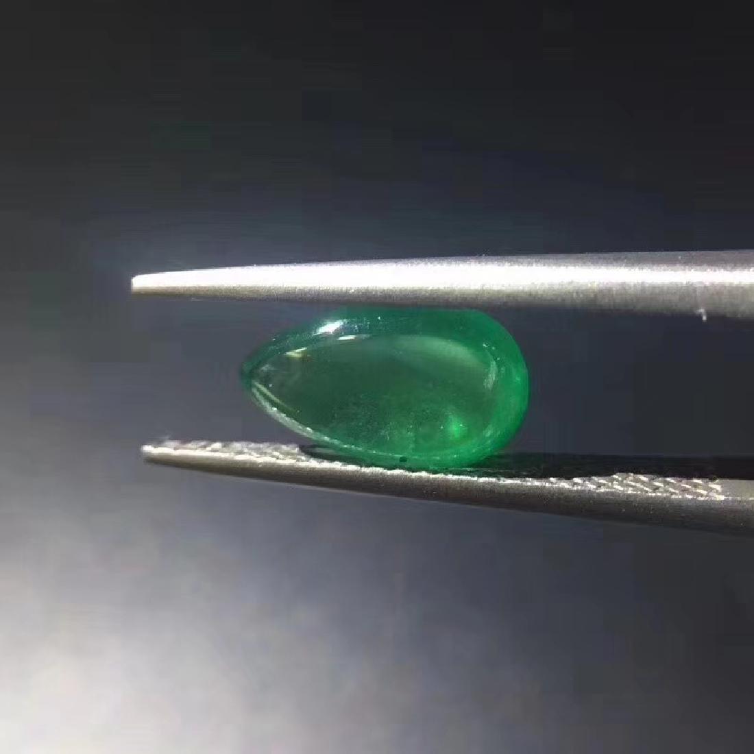 1.51 ct Emerald 6.0*10*3.7 mm Pear Cut - 5