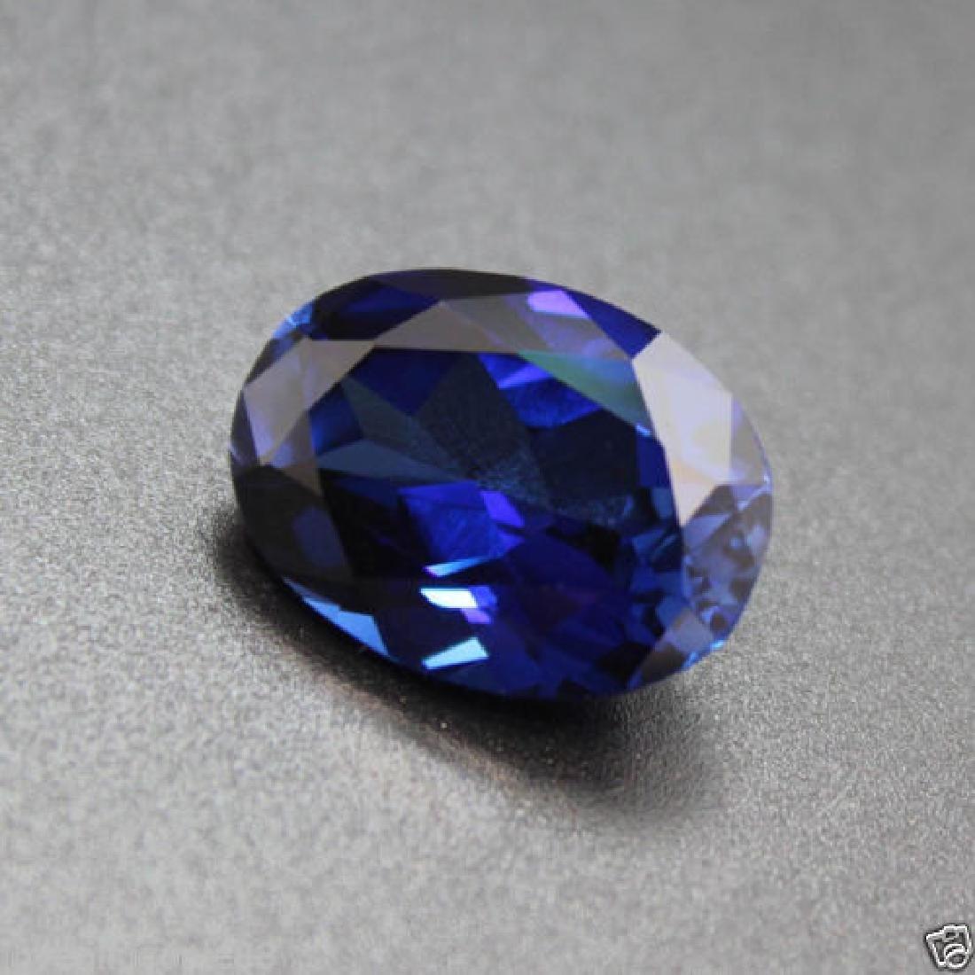 3.50 Cts Natural Blue Sapphire Oval Cut Sri-Lanka