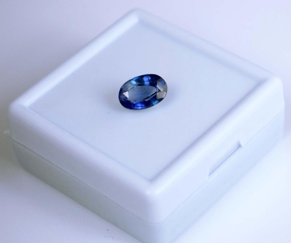 3.40 Ct Natural Blue Sapphire IGL Certified - 3