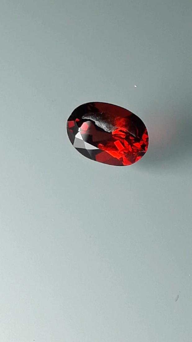 1.6ct Untreated Vivid Madagascar Red Garnet | VVS