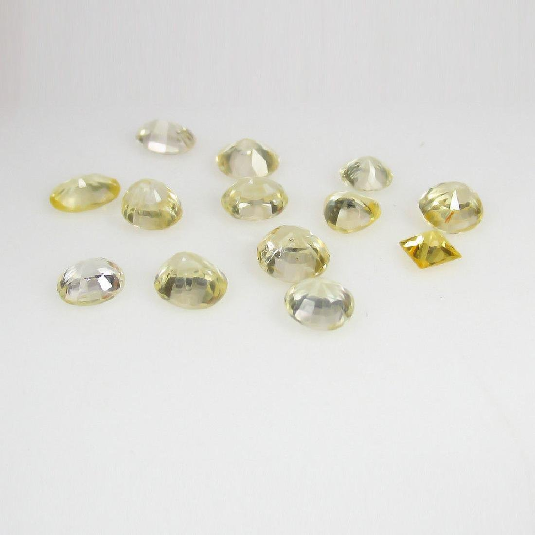 8.20 Ctw Natural Ceylon Yellow Sapphire Mixed Lot - 3