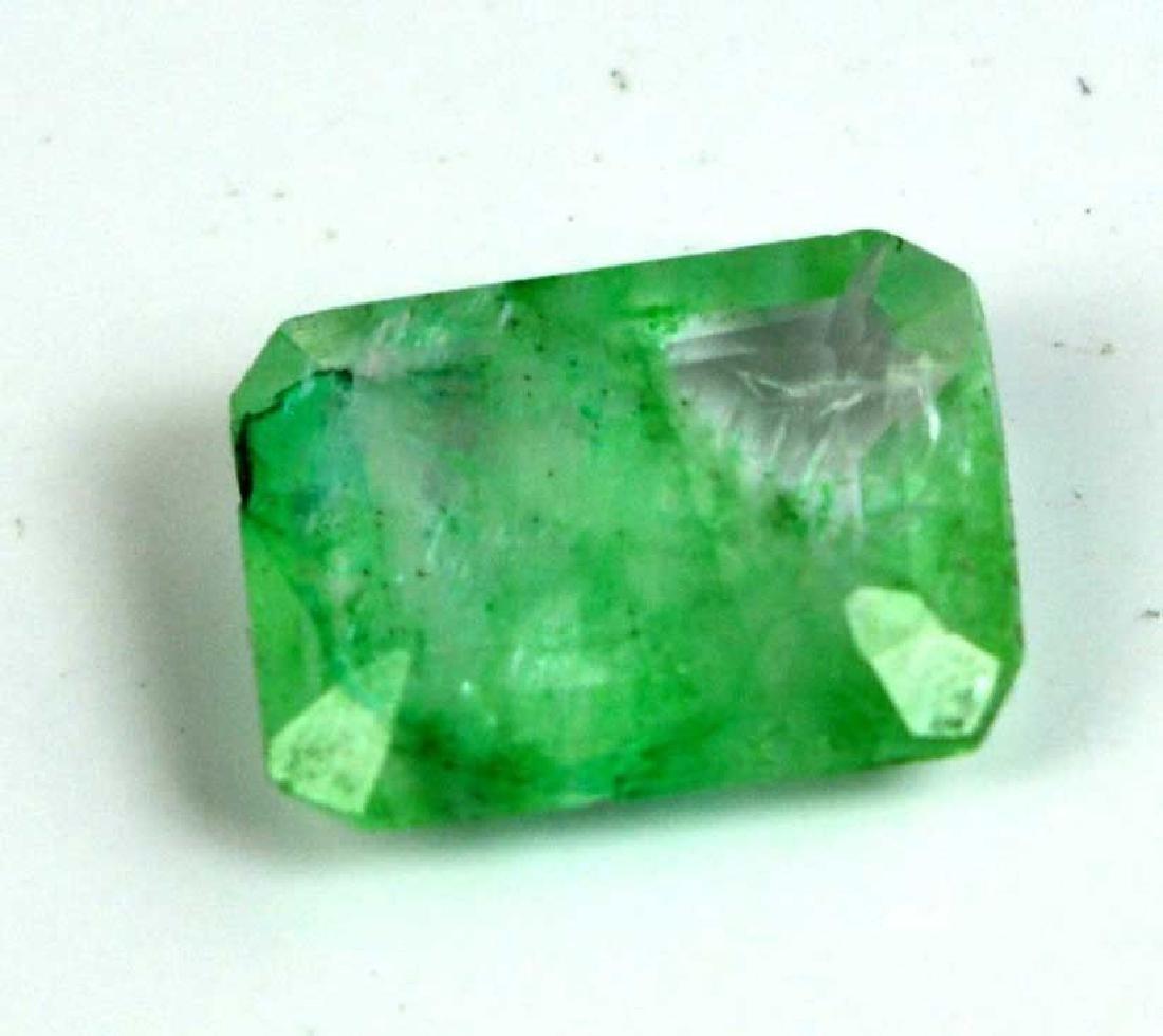 3.05 Ct Natural Zambian Emerald IGL Certified NO