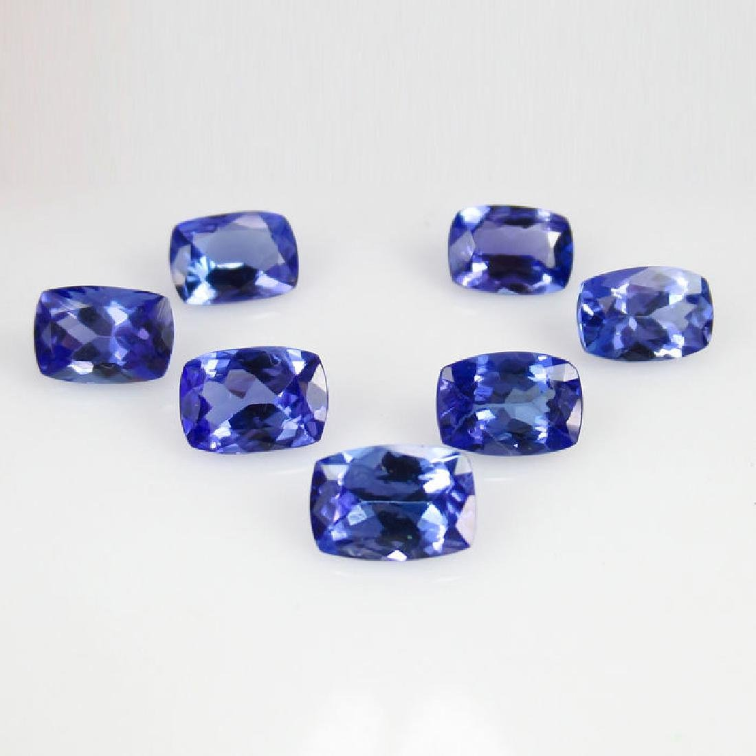 6.35 Ct Genuine IGI Certified 7 Loose Tanzanites