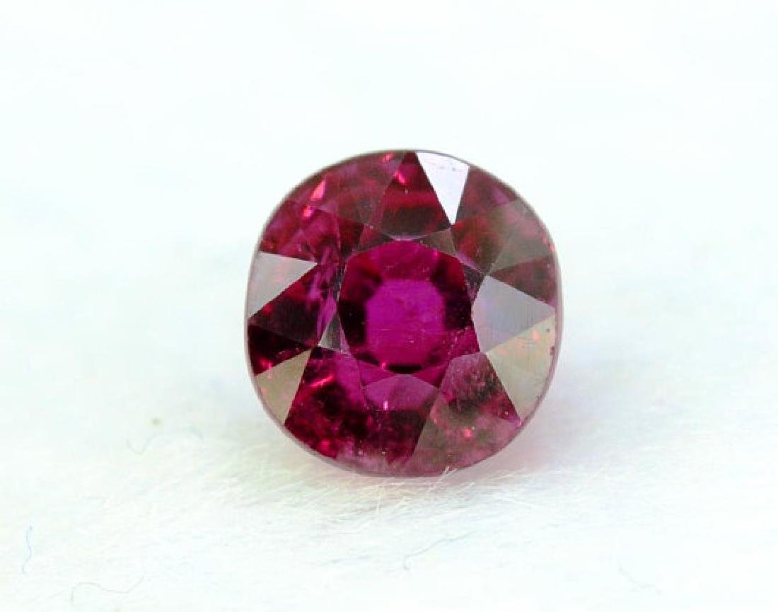 2.20 cts Untreated Dark Red Rubelite Tourmaline