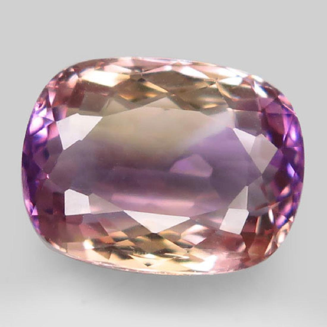 8.63ct 100%Natural Bi Color Ametrine Unheated Bolivia