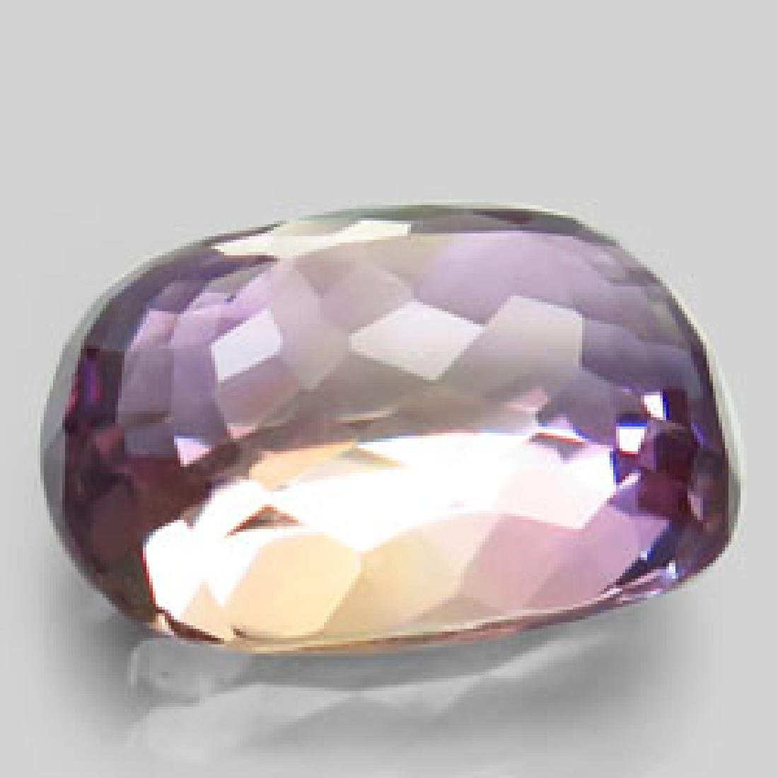 8.63ct 100%Natural Bi Color Ametrine Unheated Bolivia - 2