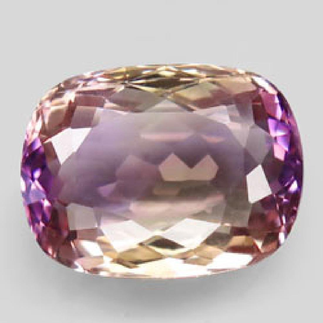 8.63ct 100%Natural Bi Color Ametrine Unheated Bolivia - 3