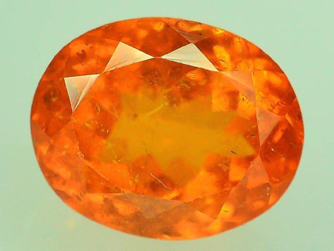3.60 ct Fanta Color Natural Spessartite Garnet Gemstone