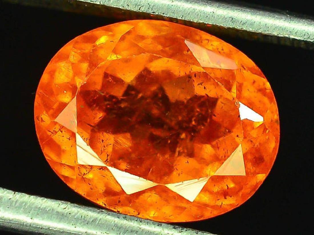 3.60 ct Fanta Color Natural Spessartite Garnet Gemstone - 3