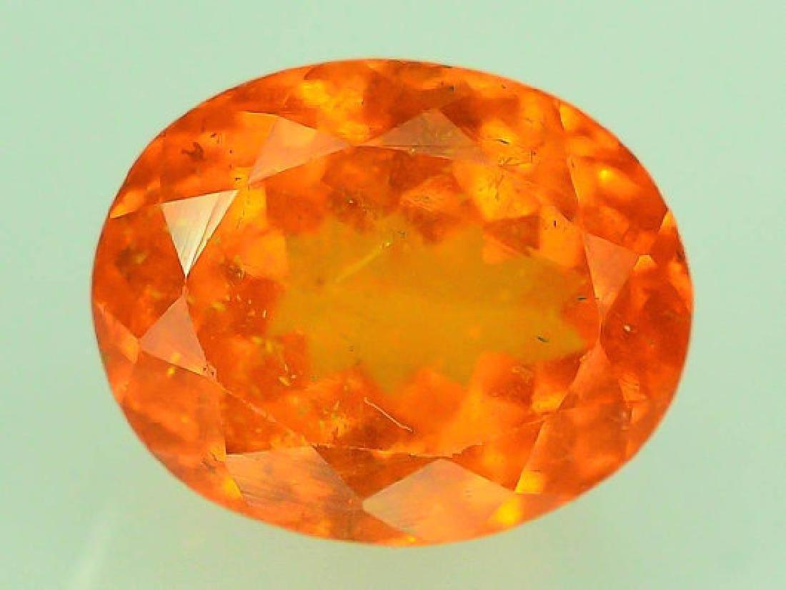 3.60 ct Fanta Color Natural Spessartite Garnet Gemstone - 4