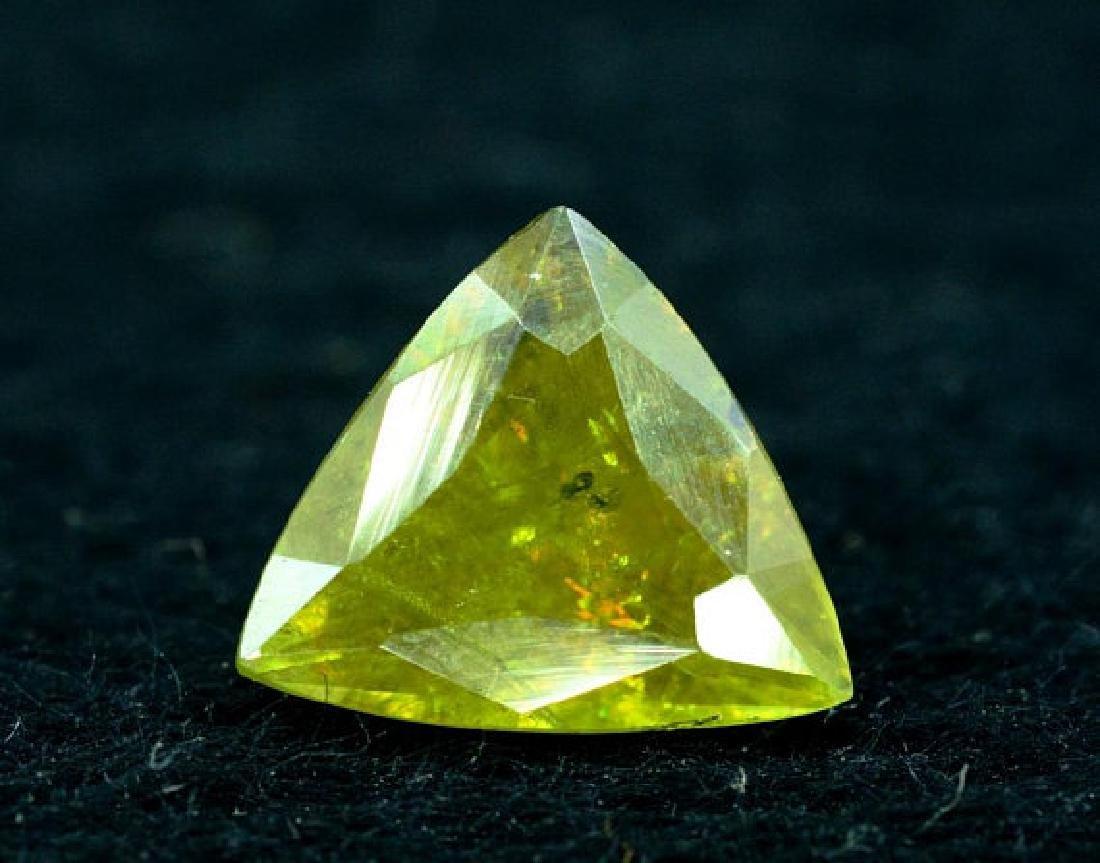 1.40 carats Full Fire Natural Chrome Sphene from Skardu