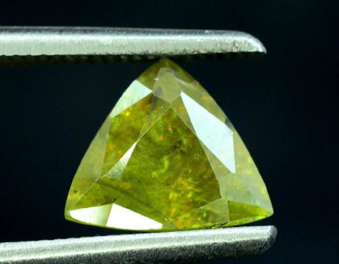 1.40 carats Full Fire Natural Chrome Sphene from Skardu - 2