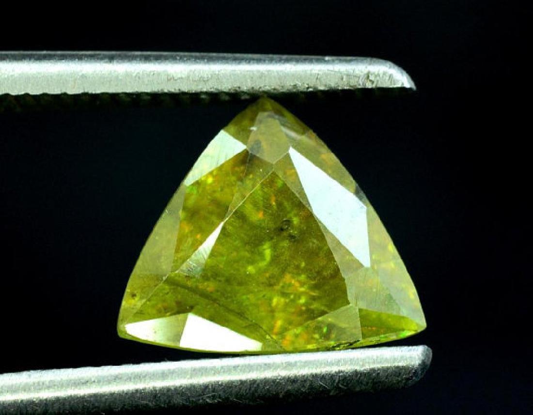 1.40 carats Full Fire Natural Chrome Sphene from Skardu - 3