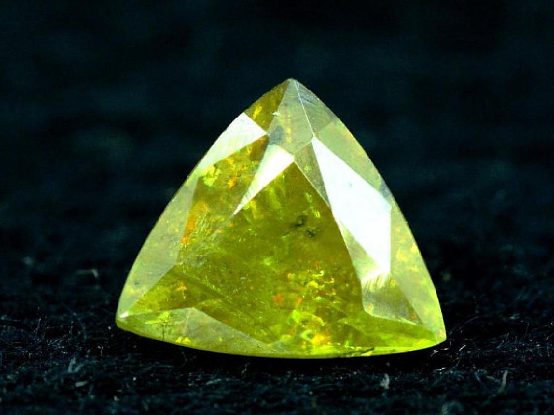 1.40 carats Full Fire Natural Chrome Sphene from Skardu - 4
