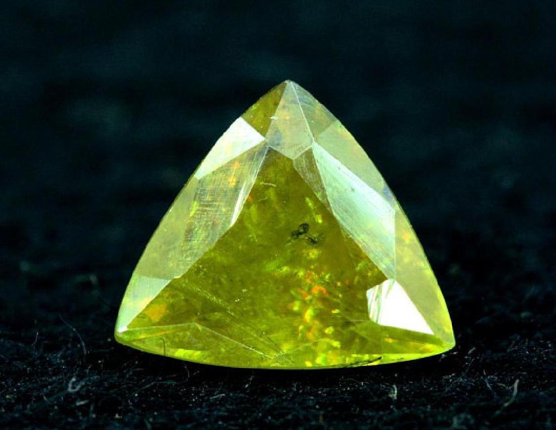 1.40 carats Full Fire Natural Chrome Sphene from Skardu - 5