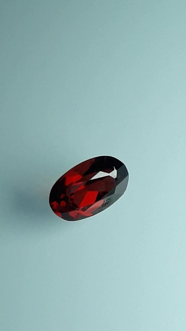 2.1ct Untreated Vivid Madagascar Red Garnet | VVS - 4