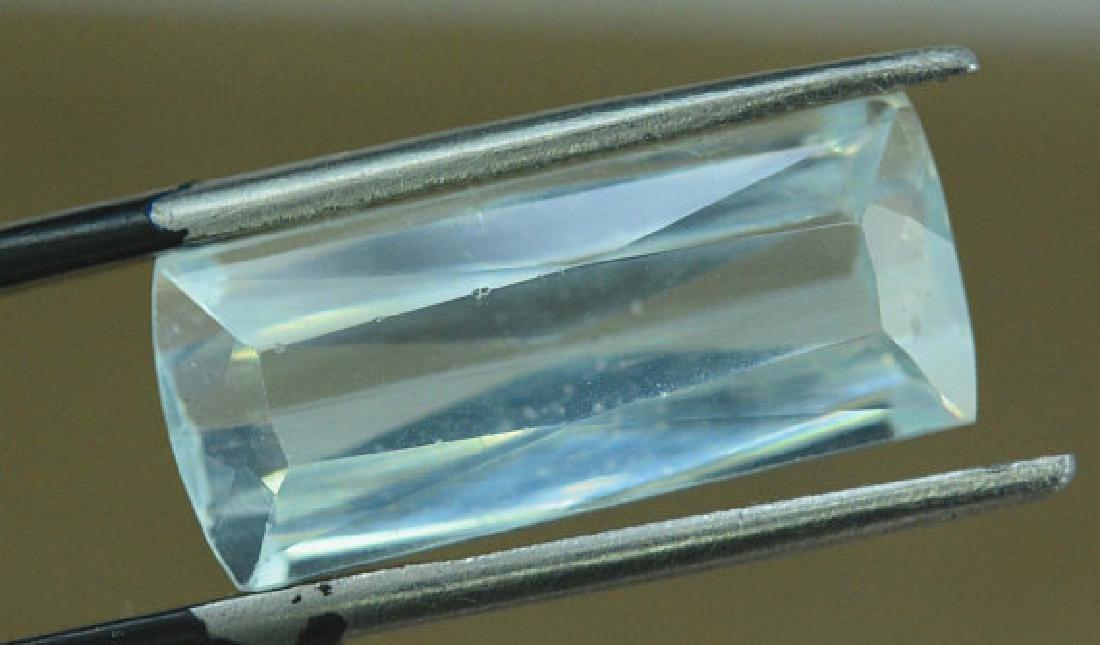 9.25 cts Untreated Aquamarine Gemstone from Pakistan - 3