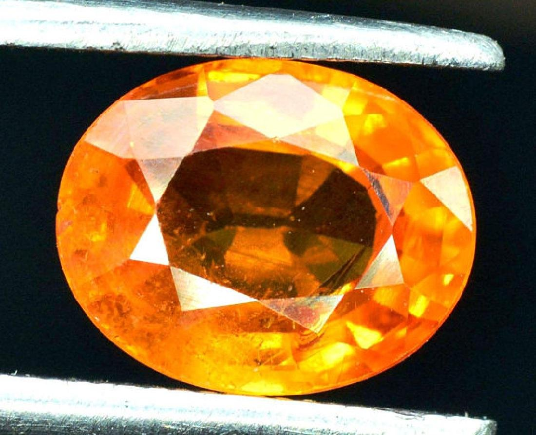 2.35 carats Fanta Color Spessartite Garnet Loose - 2