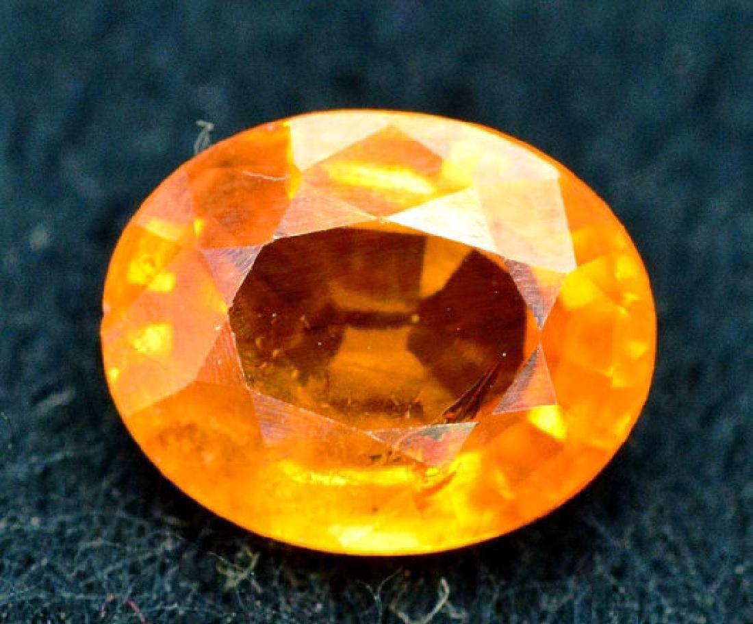 2.35 carats Fanta Color Spessartite Garnet Loose - 3