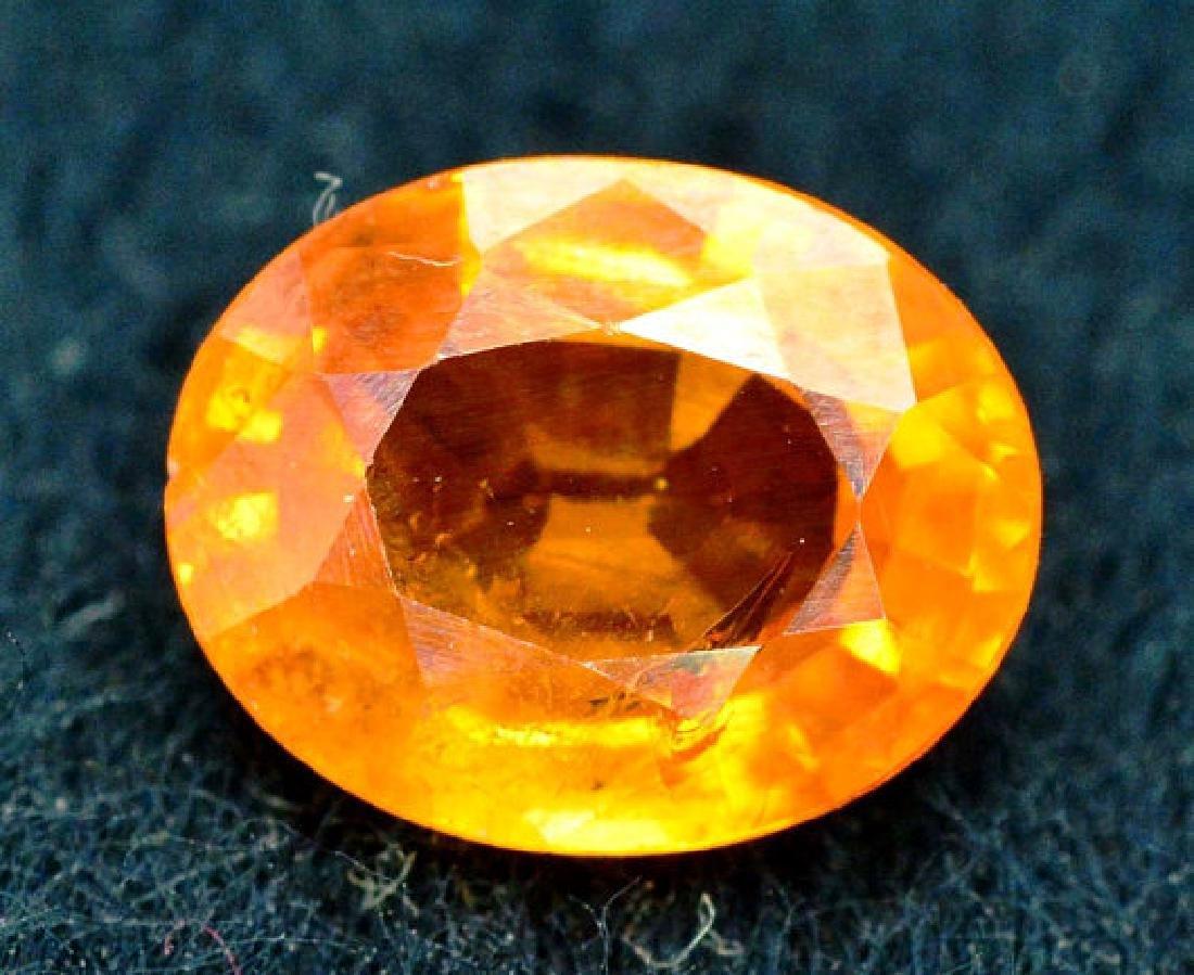 2.35 carats Fanta Color Spessartite Garnet Loose - 4