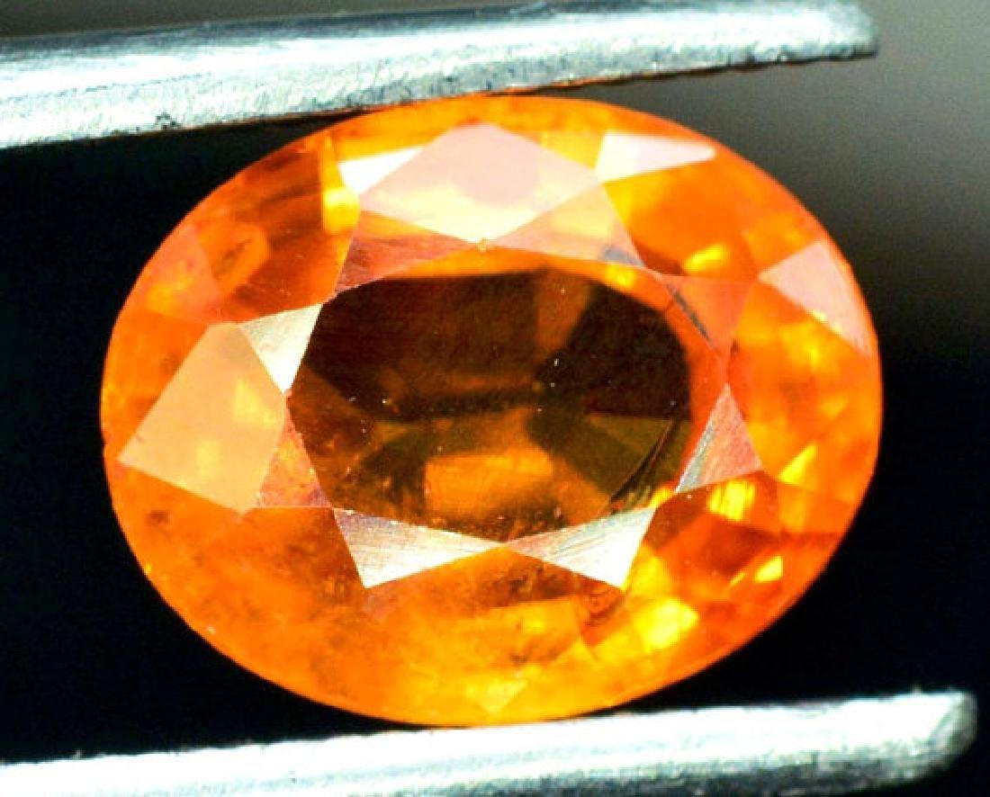 2.35 carats Fanta Color Spessartite Garnet Loose - 5