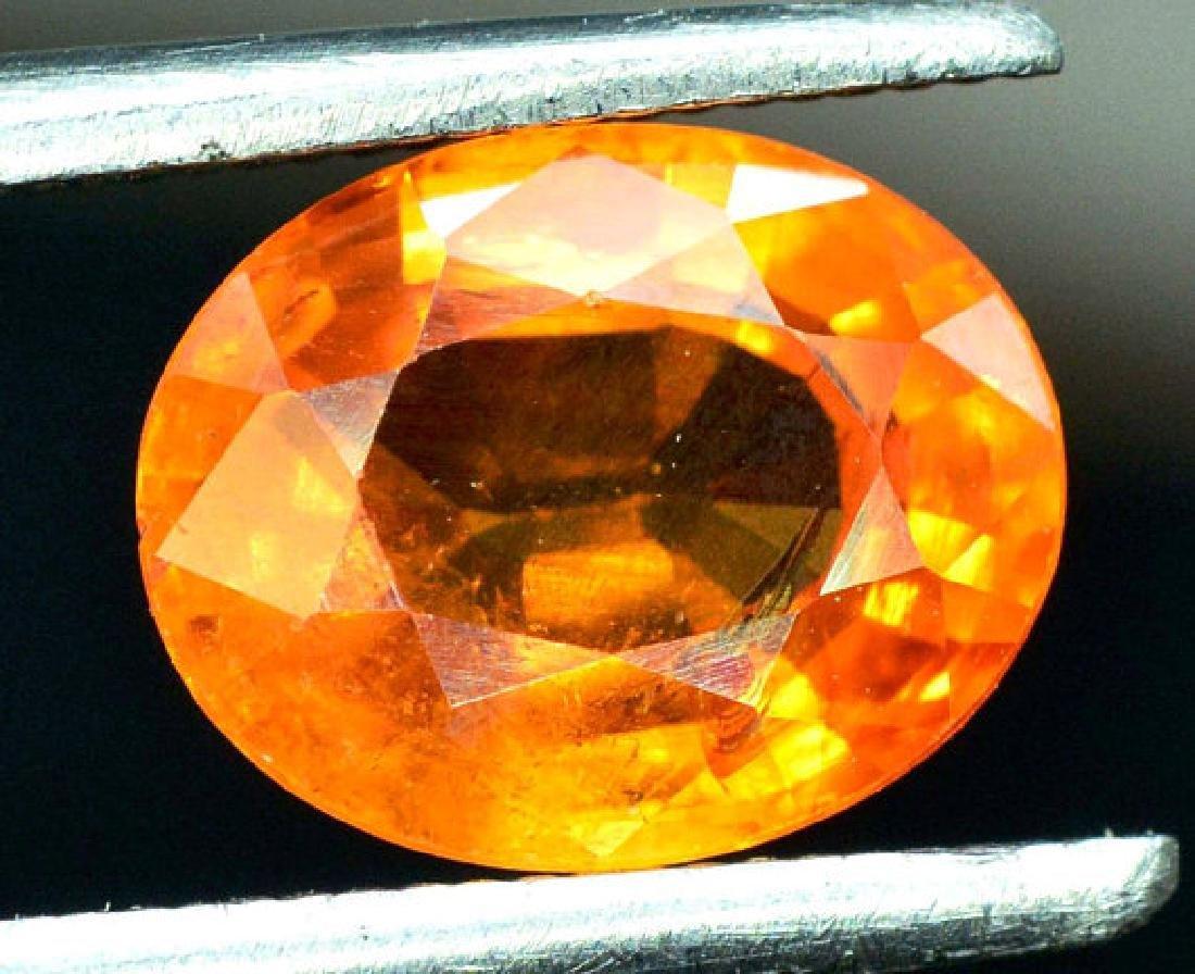 2.35 carats Fanta Color Spessartite Garnet Loose - 7