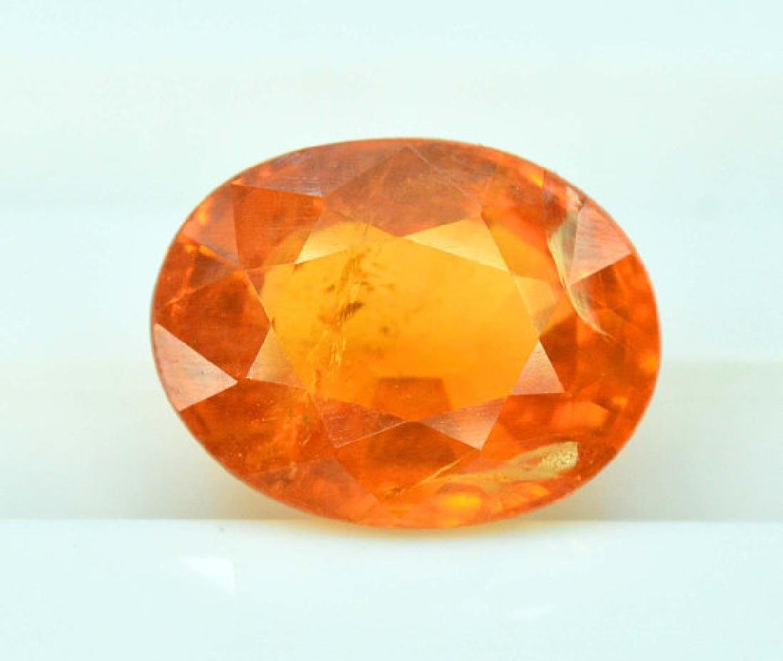 2.40 cts Fanta Color Natural Spessartite Garnet - 4