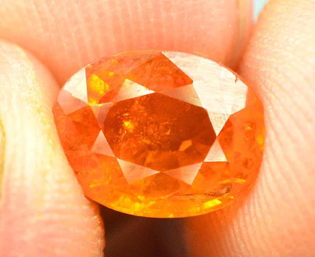 2.40 cts Fanta Color Natural Spessartite Garnet - 5