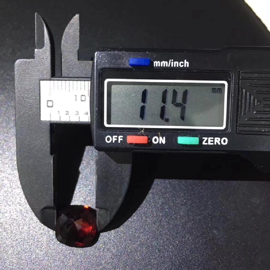 7.6 ct Garnet 11*11.4 mm Cushion Cut - 6