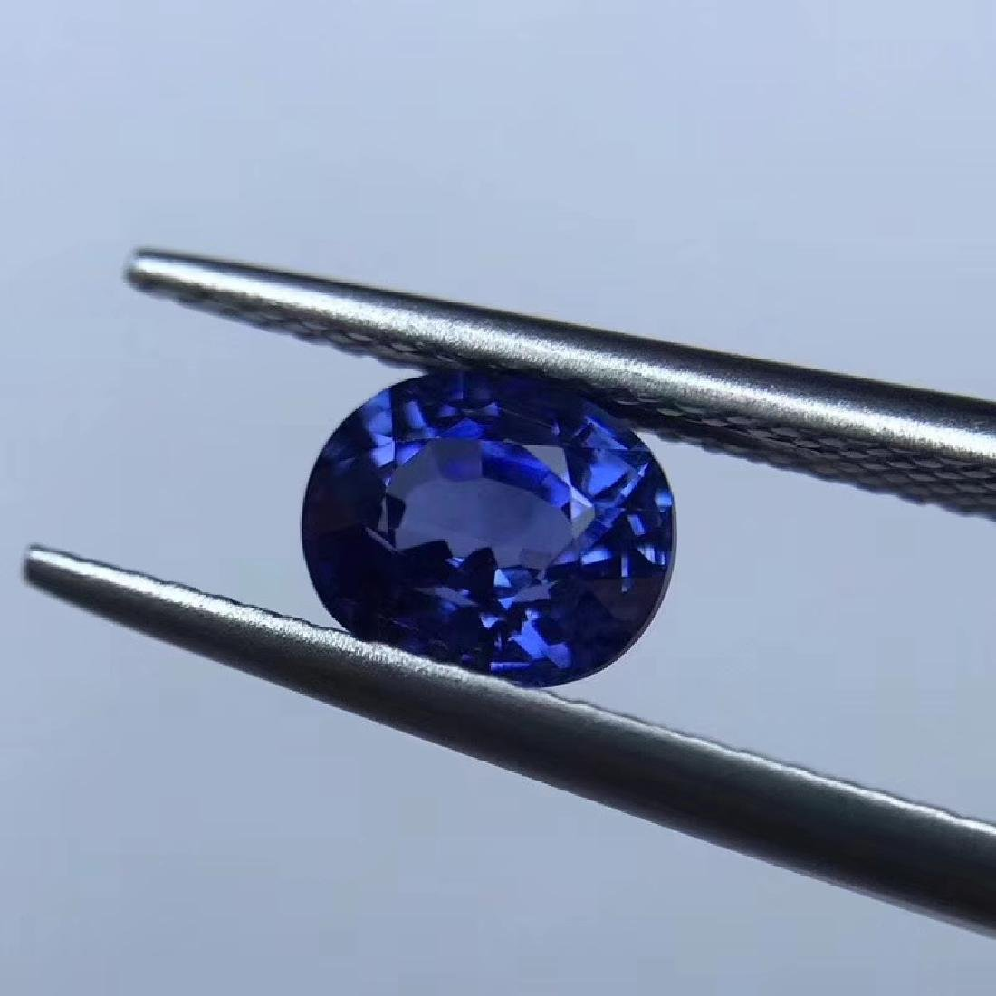 1.69 ct Sapphire 4.6*6.9*5.9 mm Oval Cut