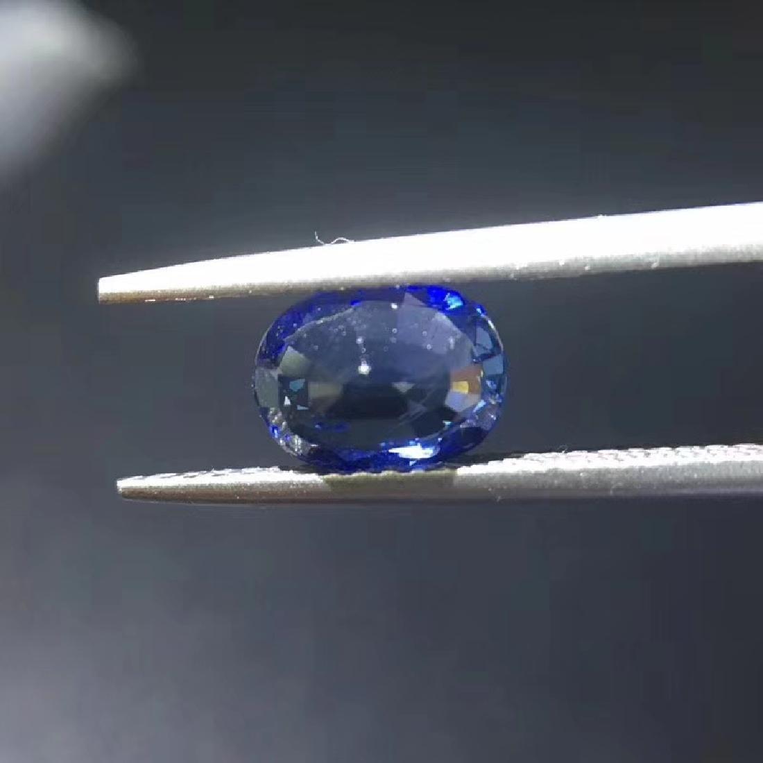 1.38 ct Sapphire 5.5*7.4*3.5 mm Oval Cut - 5