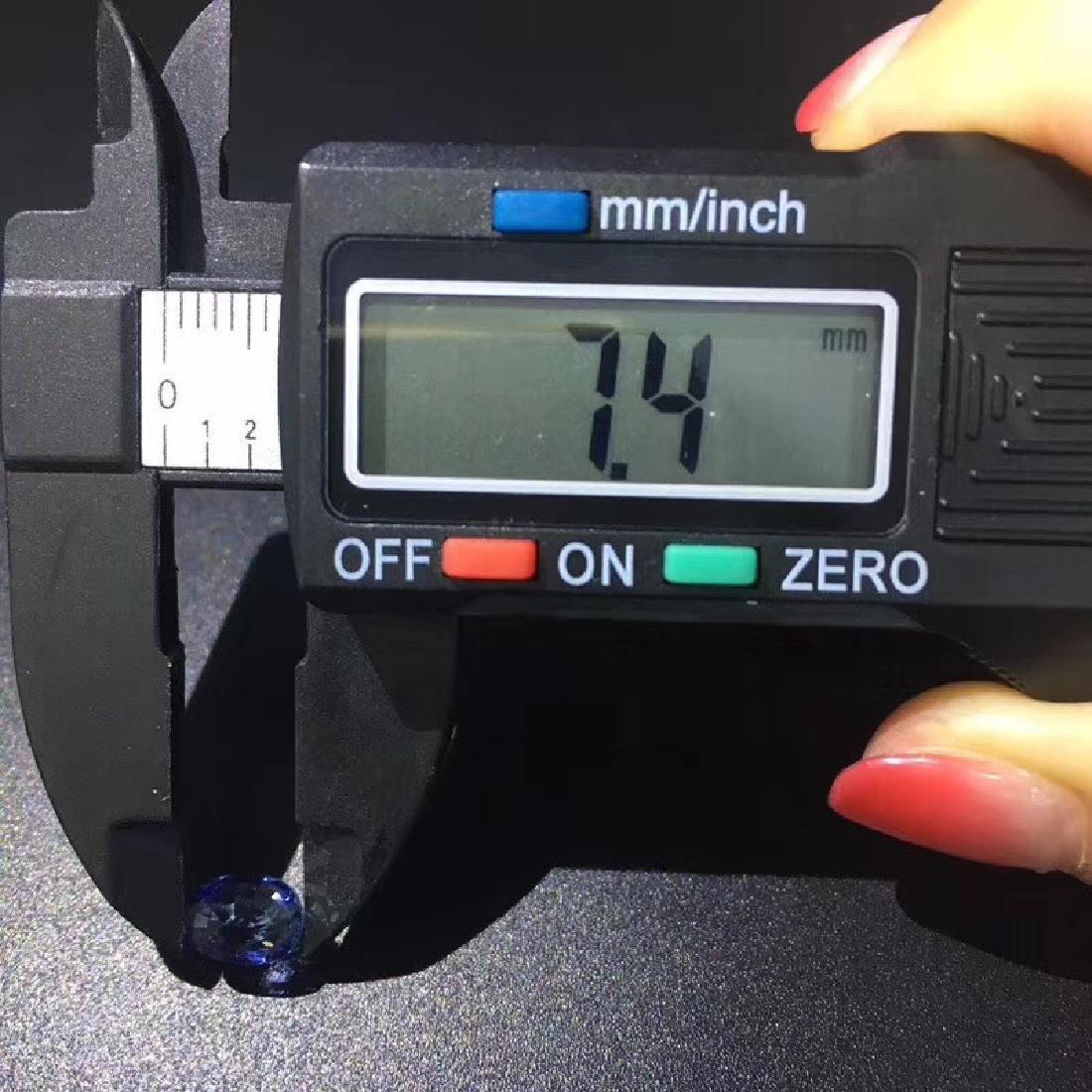 1.38 ct Sapphire 5.5*7.4*3.5 mm Oval Cut - 7