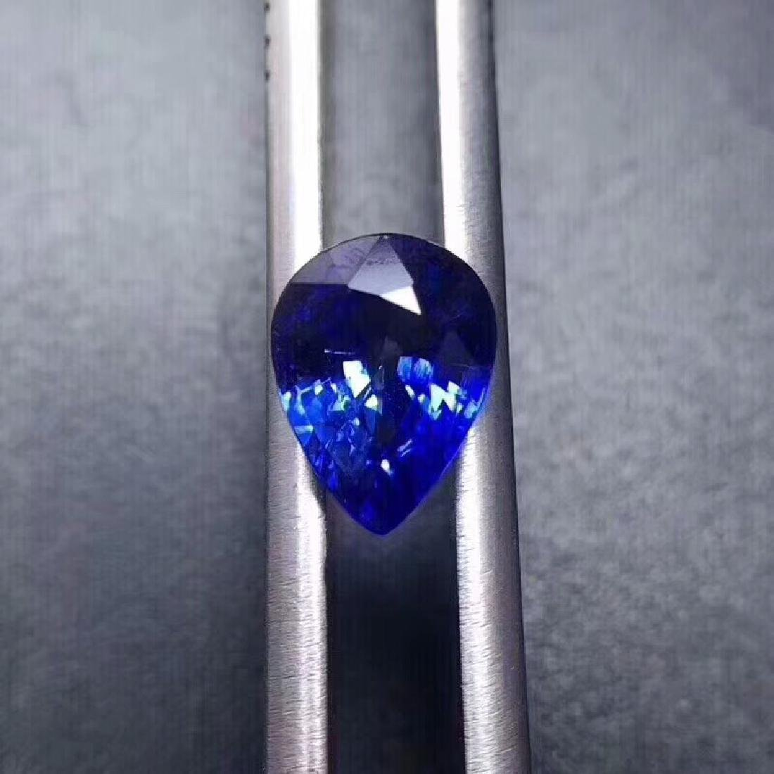 1.40 ct Sapphire 3.7*7.8*5.9 mm Pear Cut - 4