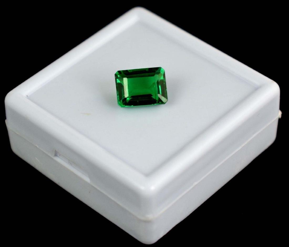 5.45 Ct Natural Untreated Green Demantoid Garnet IGL - 2