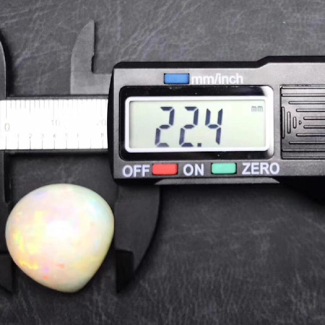 35.32 ct Opal 22.4*24.3 mm Pear Cut - 4