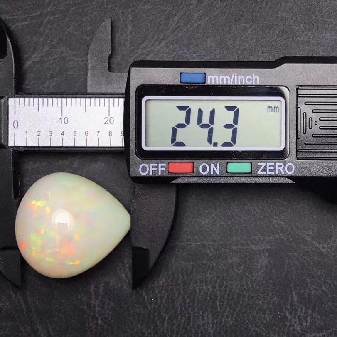 35.32 ct Opal 22.4*24.3 mm Pear Cut - 5