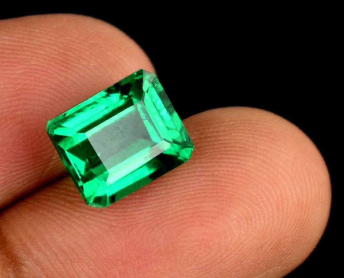 6.60 Ct Natural Untreated Green Demantoid Garnet IGL