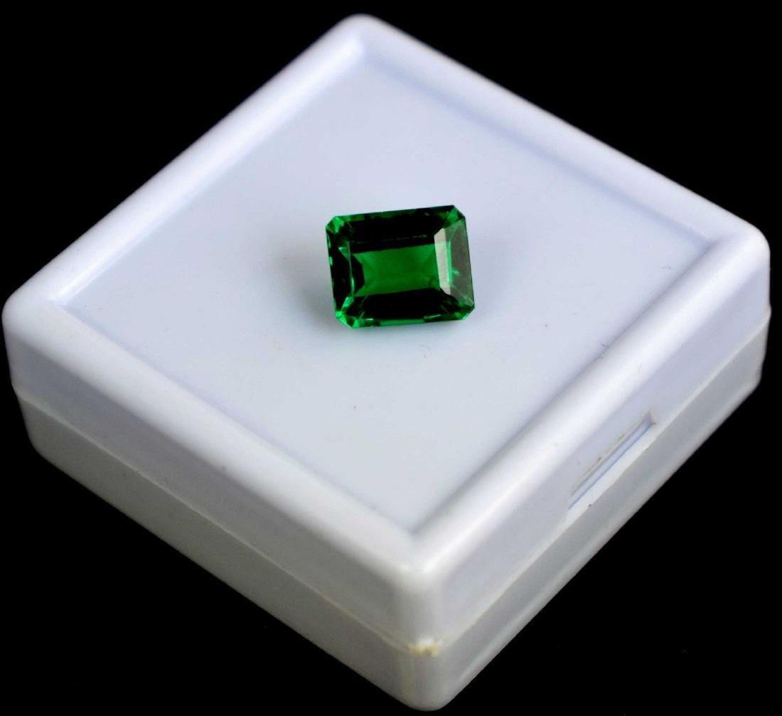 6.60 Ct Natural Untreated Green Demantoid Garnet IGL - 2