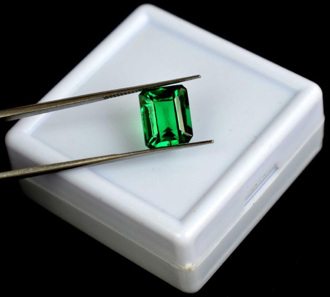 6.60 Ct Natural Untreated Green Demantoid Garnet IGL - 3