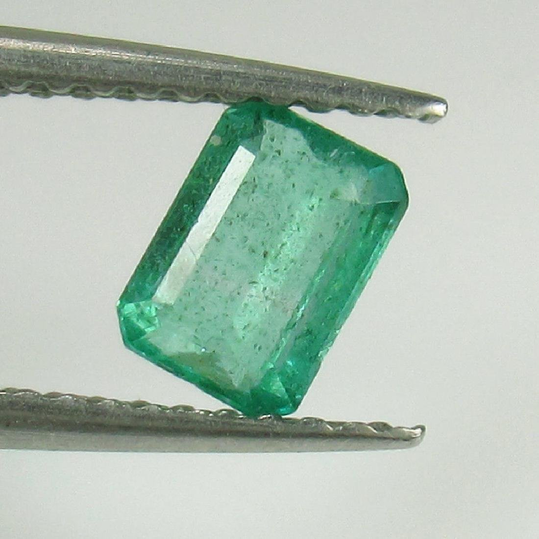 0.52 Ctw Natural Zambian Loose Octagon Emerald