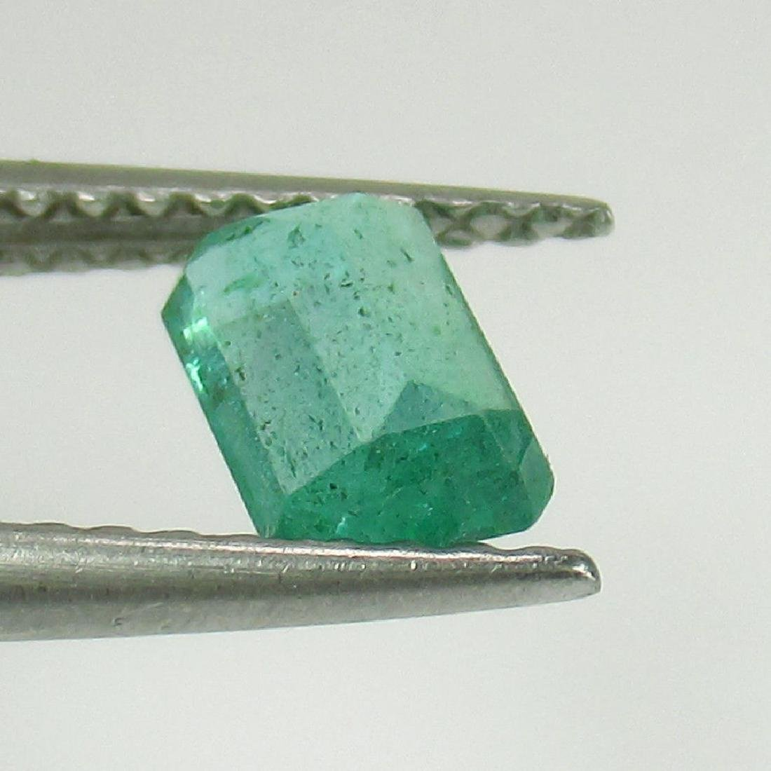 0.52 Ctw Natural Zambian Loose Octagon Emerald - 2
