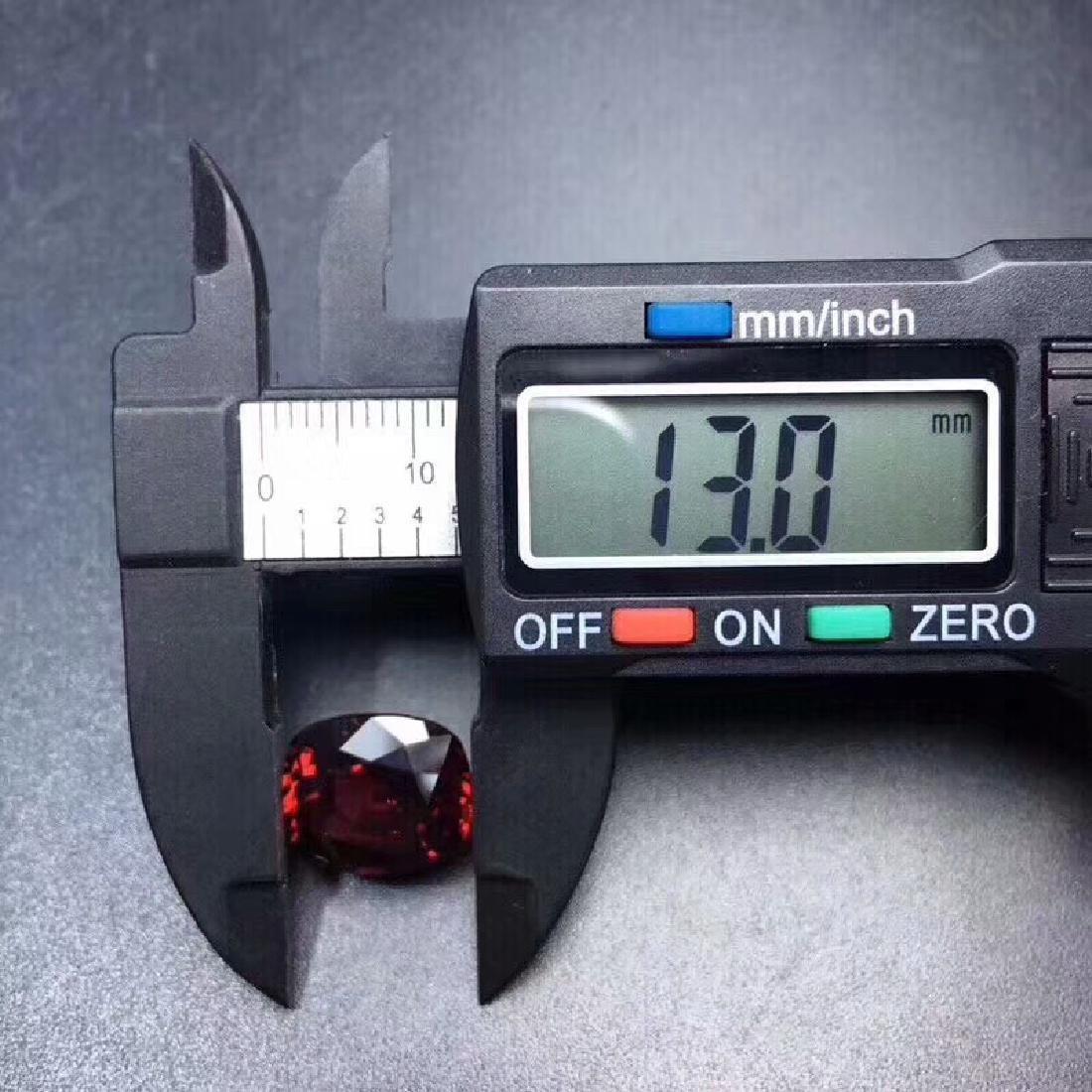 9.35 ct Garnet 11.5*13.0 mm Oval Cut - 5