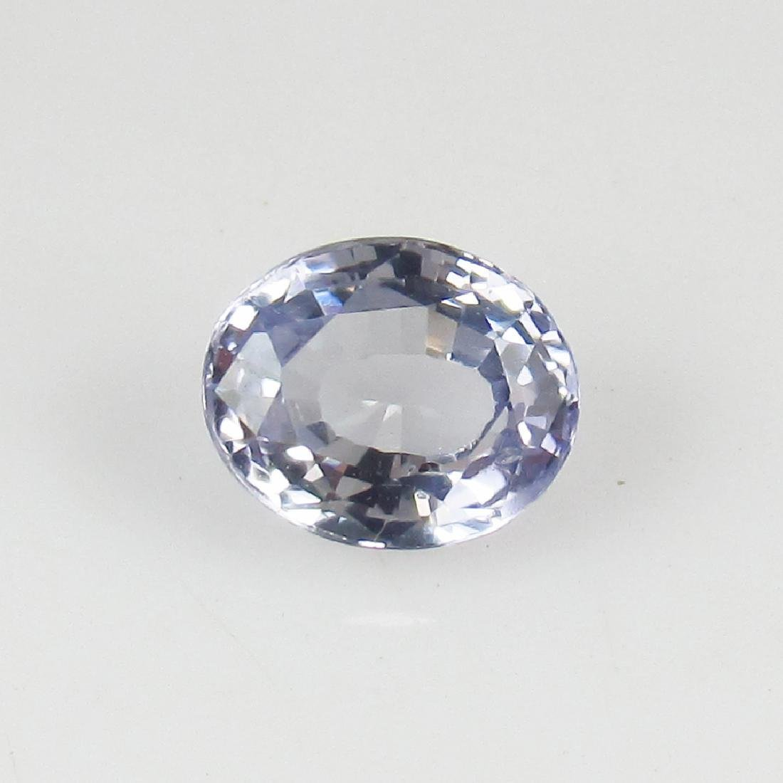 IGI Certified 1.02 Ct - Natural Loose Ceylon Unheated - 2