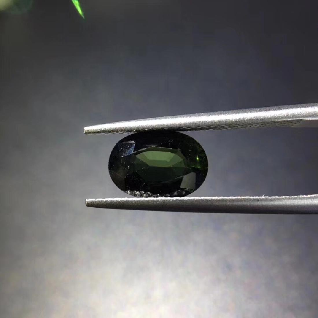 1.88 ct Tourmaline 6.2*9.0*4.1 mm Oval Cut