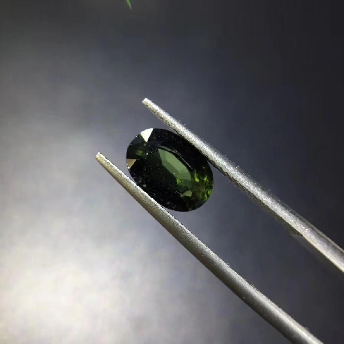 1.88 ct Tourmaline 6.2*9.0*4.1 mm Oval Cut - 2