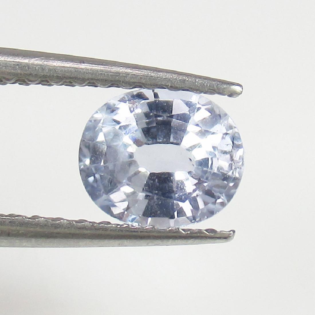 IGI Certified 0.86 Ct Genuine Unheated Sri Lankan Blue - 4